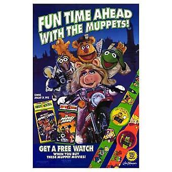 Muppet Movie elokuvajuliste (11 x 17)