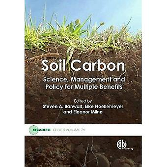 Soil Carbon: Science, Management and Policy for Multiple Benefits