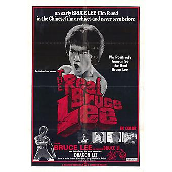 The Real Bruce Lee Movie Poster Print (27 x 40)