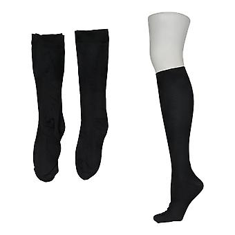 Legacy Men's L/XL Compression Trouser Socks Set of 3 Socks Black A370511