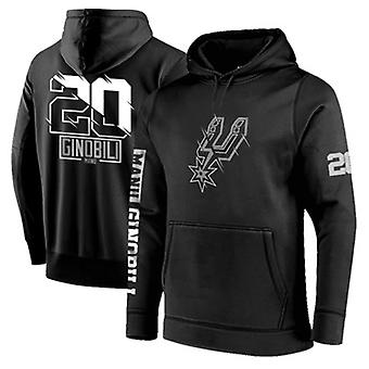 San Antonio Spurs No.20 Ginóbili Pullover Hoodie Swearshirt Tops 3WY003