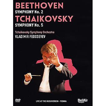 ベートーヴェン/チャイコフ スキー - ベートーヴェン ・ チャイコフ スキー Vol. 2 【 DVD 】 USA 輸入