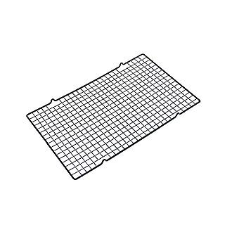 40.5*25cm Large Rectangular Stainless Steel Cooling Rack Black
