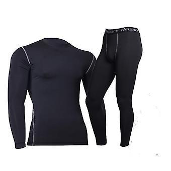 Vinter termisk undertøy, Fitness Fleece Legging Tight Undershirts