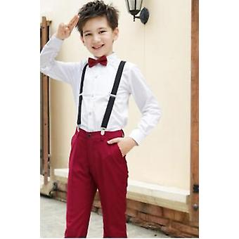 Costumes pour costumes de mariage formels Costumes single breasted Kids Blazers Suits Set