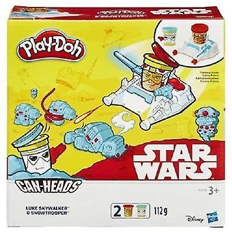 Play-doh starwars voi suunnata Luke Skywalker lumisotilas