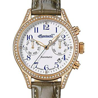 Ladies Watch Ingersoll IN7401RWH, Automatic, 36mm, 5ATM