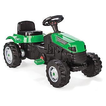 Pilsan børns traktor aktiv Pedale 07314 grøn, justerbar sæde, fra 3 år