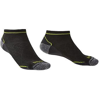 Bridgedale Hike Ultralight T2 Coolmax rendimiento tobillo calcetines masculinos