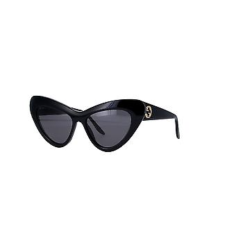 Gucci GG0895S 001 Black/Grey Sunglasses