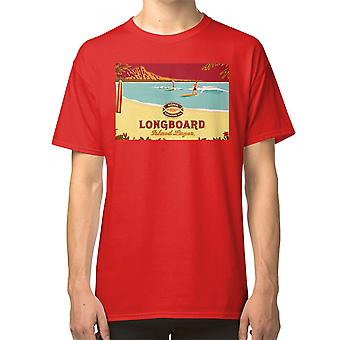 Kona Longboard T Shirt Brewing Aloha