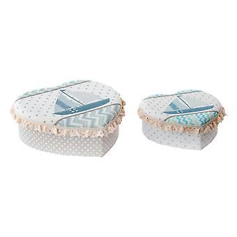 Sieradendoos Dekodonia Polyester Karton (2 stuks)