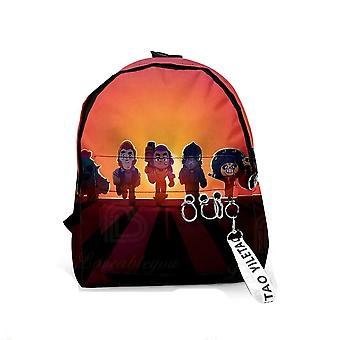 Star Game Cartoon Schoolbags For And