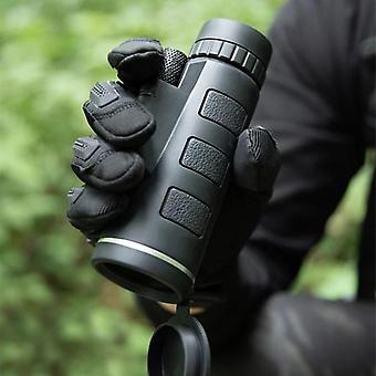 40x60 Zoom Telescope Monocular Binoculars Clear Night Vision Pocket For Camping