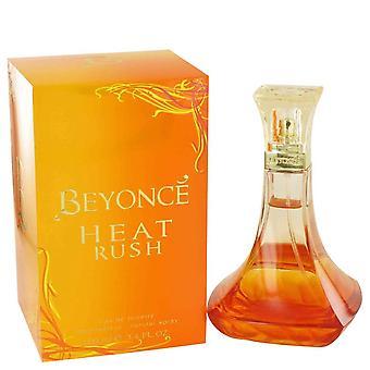 Beyonce Heat Rush Eau De Toilette Spray door Beyonce 3.4 oz Eau De Toilette Spray