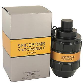 Spicebomb Extreme Eau De Parfum Spray By Viktor & Rolf 3.04 oz Eau De Parfum Spray