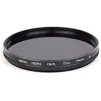 Filtro polarizador circular alfa Hoya 82mm