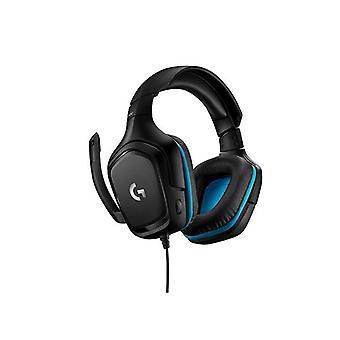 Logitech G432 Wired Gaming Headset Black