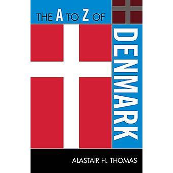 O Livro A a Z da Dinamarca por Alastair H. Thomas - 9780810872059