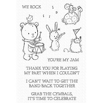 My Favorite Things You're My Jam Clear Stamps