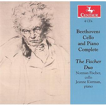 L.V. Beethoven - Beethoven: Cello & Piano Complete [CD] USA import