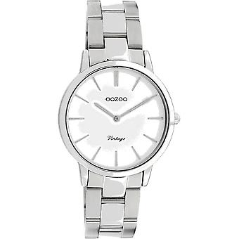 Oozoo - Women's Watch - C20038 - Silver White