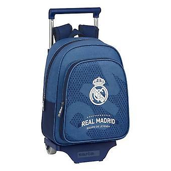 School Rucksack pyörillä 705 Real Madrid C.F. Sininen