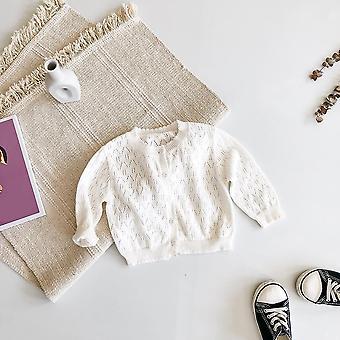 Baby Princess Thin Air-conditioning Shirt, Knitted Coat