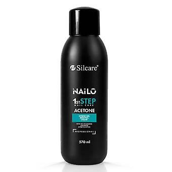 Acetone - Silcare - Nailo - 570ml