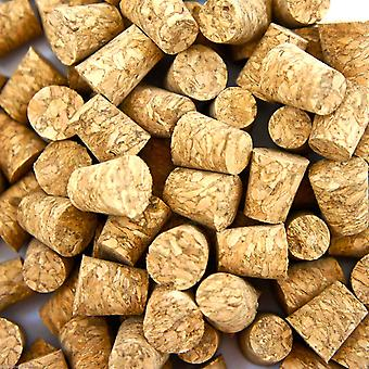 100 Pcs small body piercing corks for needles natural tool stopper jewelry stud