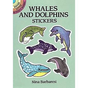 ملصقات الحيتان والدلافين من قبل نينا بارباريسي