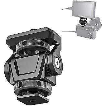 FengChun U-150 Kugelkopf Verstellbarer Winkel Kamera Kaltschuhhalterung Monitor Halterung Adapter