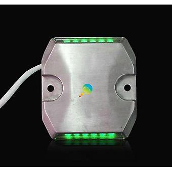 グリーン LED 有線道路 スタッド セール