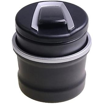 Portable Car Cigarette Ashtray With Led Light And Lid