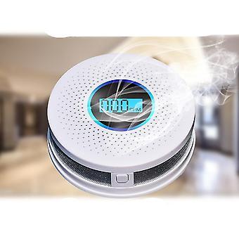 Combination Smoke And Carbon Monoxide Detector, Sound And Light Alarm