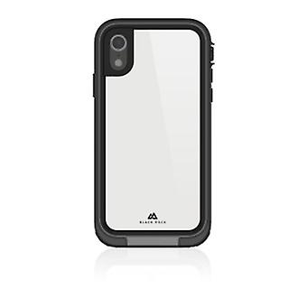 "Black Rock ""360° Hero"" Skyddsfodral för Apple iPhone XR, Perfekt skydd, Slim Design, Plast, 360 graders omslag Svart"