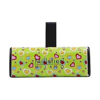 Millefiori Icon Cuori & Fiori Car Air Freshener - White Mint & Tonka 1pc