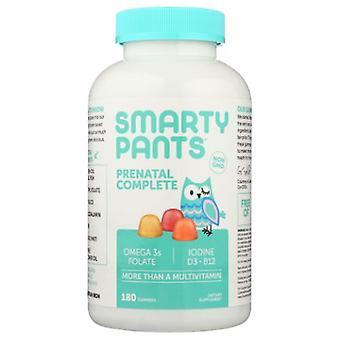 SmartyPants Prenatal Plus Folate, Omega 3 & Vitamin D, 120 Gummies