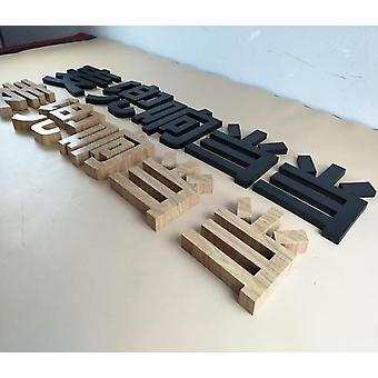 رسائل مسطحة الفولاذ المقاوم للصدأ قطع رسائل