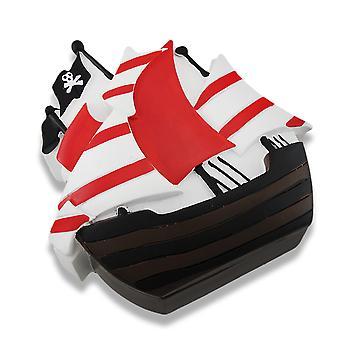 Kinder Pirat Schiff Schmuck Box