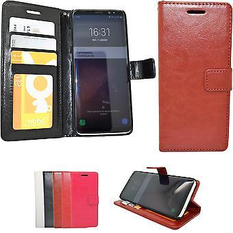 Lederen Case/portemonnee-Samsung Galaxy S8 Plus