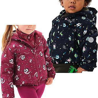 Regatta Kinder Kinder Peppa Schwein Schlammige Pfützen Gepolsterte wasserdichte Jacke Mantel