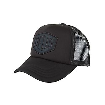 Deus Ex Machina Baylands Trucker Hat - Black