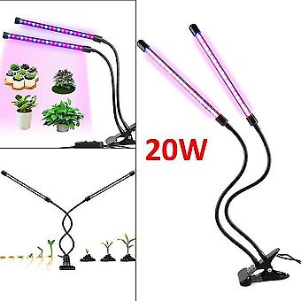 Growth charts 20w led plant flower bloom grow light lamp full spectrum hydroponic