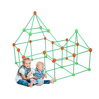 Construction Fort Building Kits For Kids Diy Building Fortress Building Castles