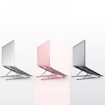 Tragbare tragbare Aluminiumlegierung Faltbar es, verstellbares Heben Tablet Computer Kühlung Notebook Stand
