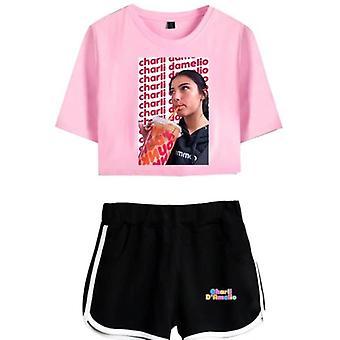 Charla Damelio Tik Tok T-shirt Dress Set 2