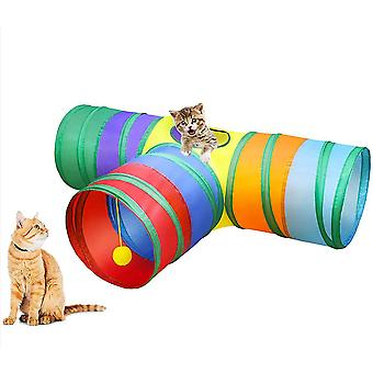 Cat Tunnel In 3 Ways Rainbow Design Pet Tunnels