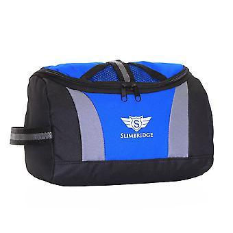 Pilier de Slimbridge accrocher le sac de toilette, bleu