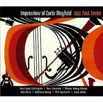 Jazz Soul Seven - Impressions of Curtis Mayfield [CD] USA import